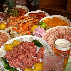 【お祭り一番館夕食付・朝食無料】スタンダードプラン♪焼肉&お寿司・かに食べ放題
