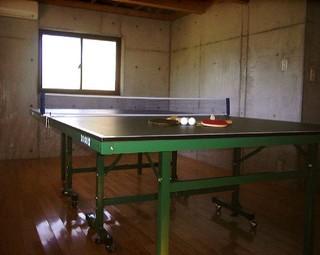 【おんせん県・大分】専用の卓球場&露天風呂付きコテージを1棟貸切・・・グループ、ファミリープラン