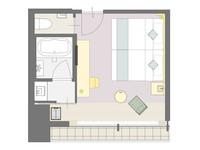 【 最上階2部屋・ コネクティングルーム 】(素泊り) 3〜4名様でのご宿泊 ファミリー・女子会に♪