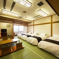 大部屋和室17.5帖(ベッドタイプ)トイレ付◆禁煙◆