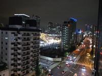 【高層階角部屋確約(※8階以上)】高輪ゲートウェイ駅を臨む夜景を独り占めプラン♪ (朝食なし)