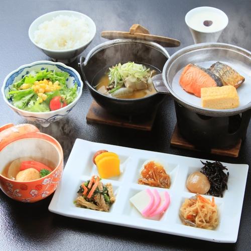 【朝食付き】身体に優しい和朝食をお届け。観光やビジネスにも!<朝食付き>