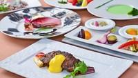 【夕食・朝食付】(飲み放題付)2種類のソースで楽しむ牛ロースと地野菜のスタンダードコース|5月まで