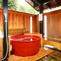 ◇特別室◇信楽焼陶器風呂付和室+広縁