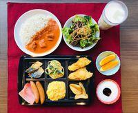 ワンプレート朝食をお得価格でご提供♪インドカレーが自慢!お部屋おまかせプラン <朝食付き>