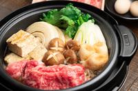 【夕食付】花より団子(お肉)!お宿で楽しむ春の京すき焼きプラン