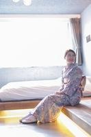 楽々☆着物姿でホテルに戻れる!マテリアル&レンタル着物・祇園京かがみのコラボプラン