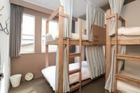 個室 二段ベッド付 大人4名用 2階