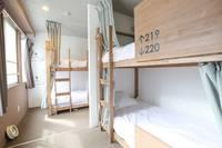 個室 二段ベッド付大人6名用 2階