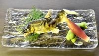 """【湖北の夏◆鮎づくしプラン】琵琶湖の""""香魚""""『鮎』本来の美味をおふたりでご堪能♪(1泊2食付)"""