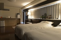1週間以上の長期滞在プラン◎街中の家具家電付きアパートメントホテル。健康観測やテレワークにも!