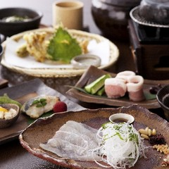【2食付】国産塩麹豚石焼など《季節の会席》♪人気の《籠盛り和朝食》プラン(チェックアウト11:00)