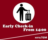 【アーリーチェックインOK/素泊り】14:00からチェックインできます!