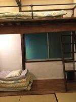 和室 room205 ロフトベッド付きの和室