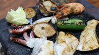 【二食付き】石焼き&対州そば!丸屋こだわりの郷土料理をお腹いっぱい召し上がれ