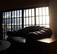 【離-RI-】洋室ツイン 1階 庭に面した離れ