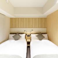 ツインルーム【禁煙】110cm幅ベッド×2台/17平米