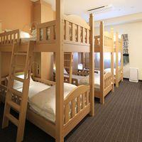 ファミリールームC<禁煙>二段ベッド 6人部屋/32平米