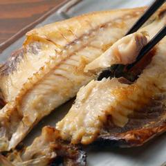 【こだわりの朝ごはん】 金目鯛の煮付け付♪選べる朝食!しらす&桜海老二色丼と伊豆わさび丼+釜鶴干物
