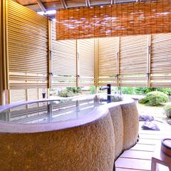 【禁煙】和室(全タイプ計15畳以上)+温泉露天風呂付き客室