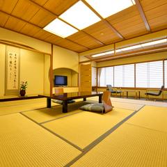 【禁煙】和室12.5畳+広縁(チェア付き)温泉は大浴場派!