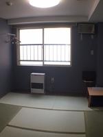 15平米、6畳(和室orフロア)1or3名まで個室利用!このタイプのみ扇風機。連泊、禁煙