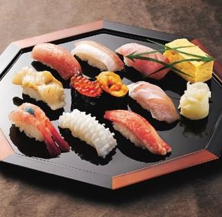 新潟で寿司を極める!【全国共通すし券¥3,000付き】 ■素泊まり
