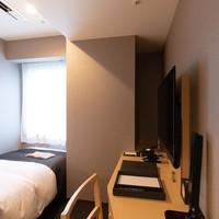 【禁煙】シングルルーム(12平米/ベッド幅110cm)