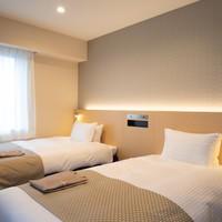 【3月4月限定】【1日3室限定】シングルルーム料金でツインルームに♪アップグレードプラン【朝食付】