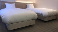 ◆ツインルーム◆シモンズ社製ベッド使用