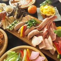 【期間限定/テラスBBQ】mikan terraceで楽しむBBQ&シラハマビュッフェ◆2食付き♪