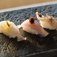 【スタンダード】寿司カウンターの「八咫」は目の前が海!白浜の海の幸を味わう◆2食付き