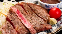 【上州牛ステーキ100g(11品)】ジュワッと溢れる肉汁〜控えめ会席+上州牛ステーキ〜