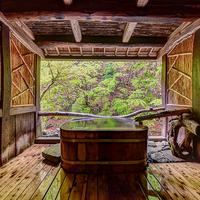 【露天風呂付客室にご滞在】清流の音を聞きながら、かけ流しの温泉で寛ぎ時間を
