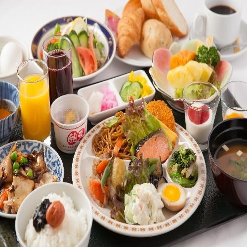★楽パック★【朝食バイキング】プラン 06:30〜OPEN