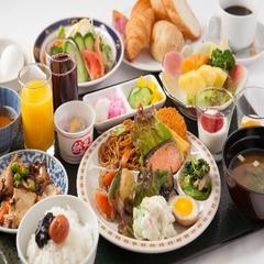 ポイント2倍!【朝食バイキング】プラン 06:00〜Open