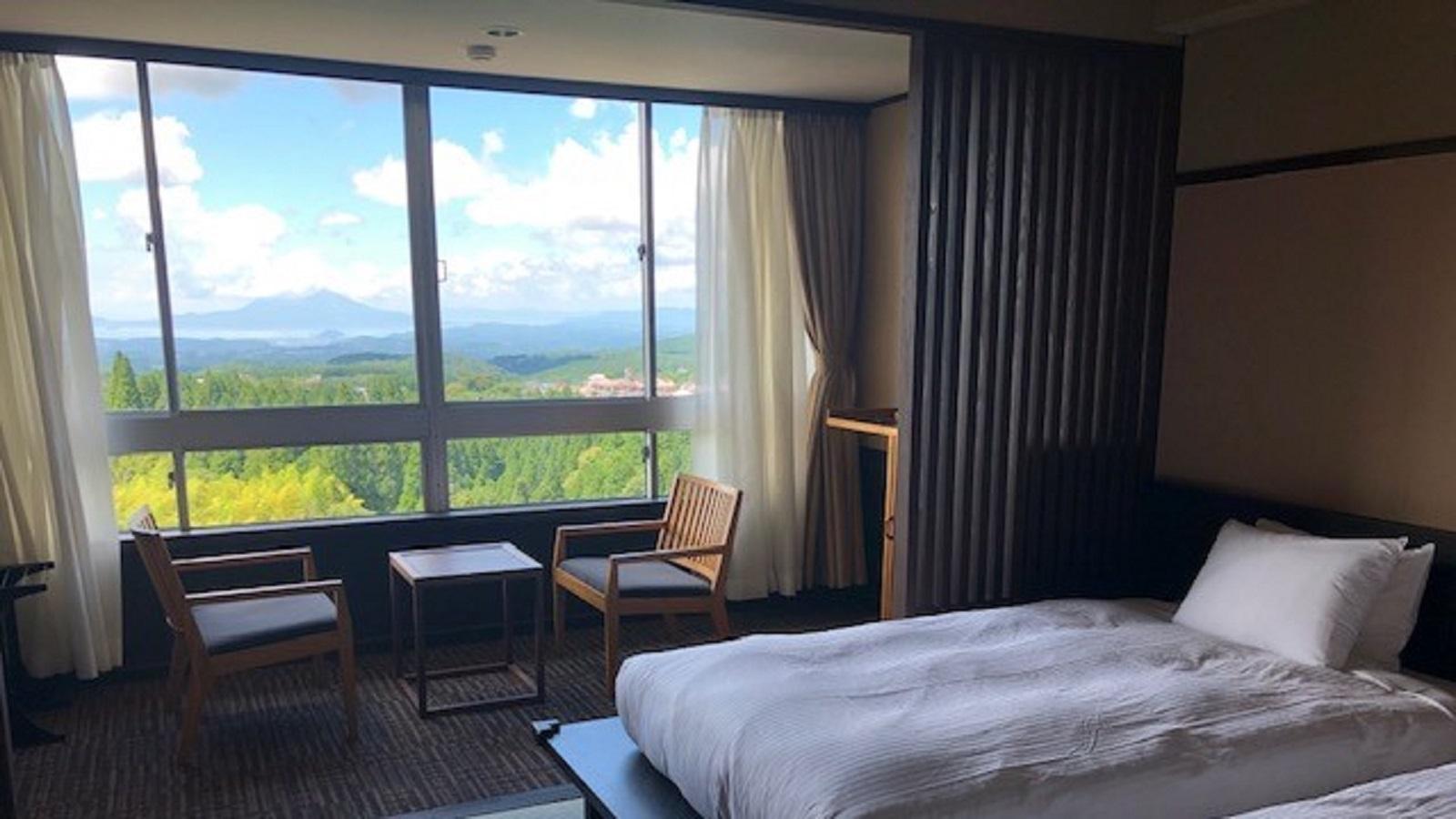 【景観重視】桜島を望む和の趣が映える洋...