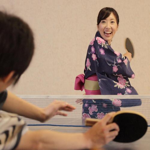 【8大特典付】桜島を望む<絶景☆展望風呂>や<溶岩露天風呂>など約5種の湯巡り♪温泉後は卓球勝負♪
