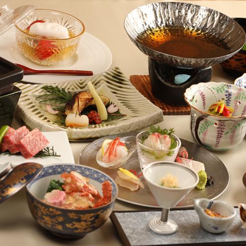 【美食グルメ】美食に舌鼓〜吟味特選〜《和牛陶板焼&鮮魚7種盛&カンパチしゃぶ》◆A会席◆