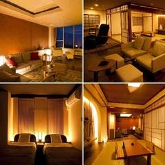 【1室だけの贅沢】桜島を眼前で望むデザイナーズ特別室(禁煙)