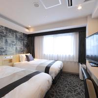 ツイン【禁煙】◆シモンズ製ベッド全室導入◆バス・トイレ別