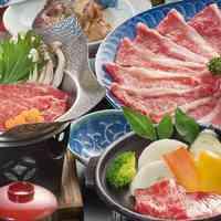 【和牛のしゃぶしゃぶ&陶板焼きの肉盛りプラン】ボリューム◎!!満腹&道後満足!