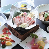 【楽天限定】楽天トラベルアワード日本の宿受賞*甘とろ豚のポパイ鍋と瀬戸内鯛*ラッキーDAYはPT3倍