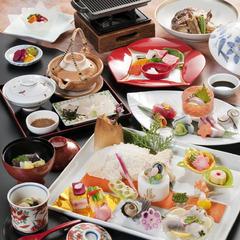 【ご長寿記念日プラン】<桜鯛の塩釜付プレート会席>ちゃんちゃんこ&ワインの特典付♪