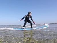 南国リゾート感いっぱいの綺麗な海でSURF&SUP楽しもう