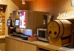 フリードリンク&お味噌汁サービス