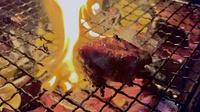 【夕食付】肉屋直営!秋川牛など国産にこだわったCコース★屋根付ハウスで楽しむBBQ