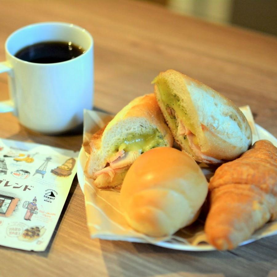 お部屋で食べるお手軽朝食!
