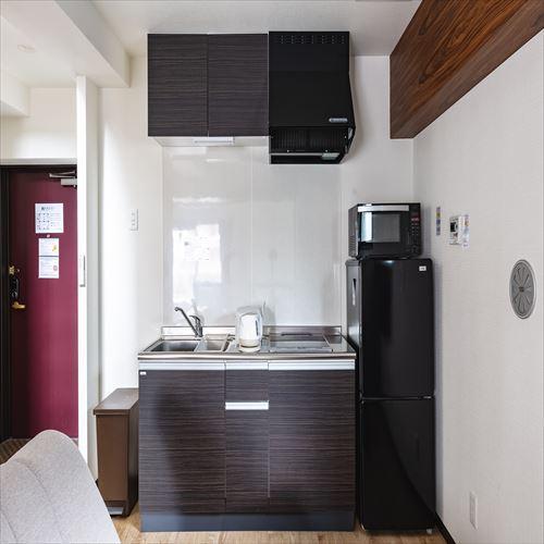 全室システムキッチン完備