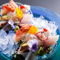 近隣漁港水揚げ 南あわじの地魚を味わいつくす懐石コース・鮮やかな島育ち野菜とともに【あいたい兵庫】
